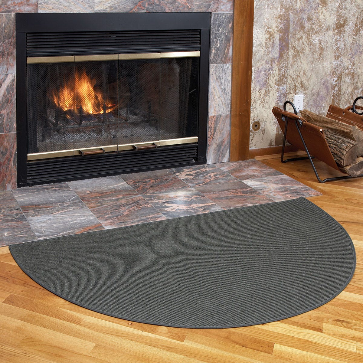 Fireplace Rug Fire Resistant: Guardian Hearth Fireplace Rug (4 Ft.)