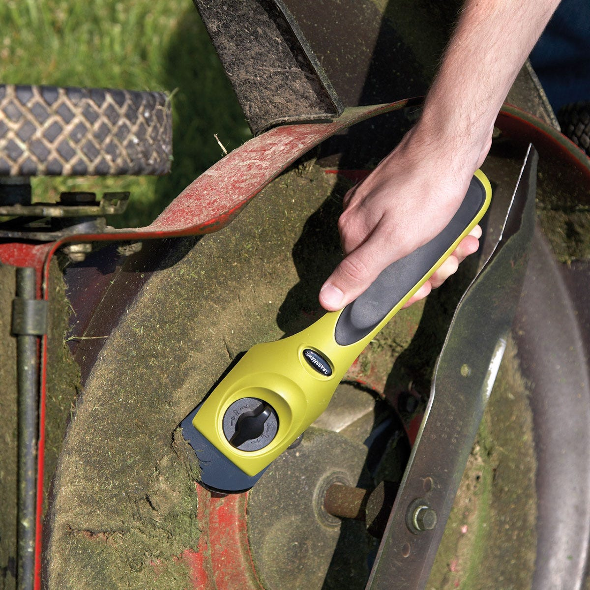 Mower Deck Washers : Ultimate lawn mower deck scraper