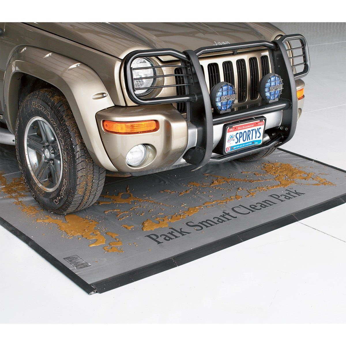 Ultimate garage mat large car 7 ft 6 in x 20 ft for Garage auto lyon 7