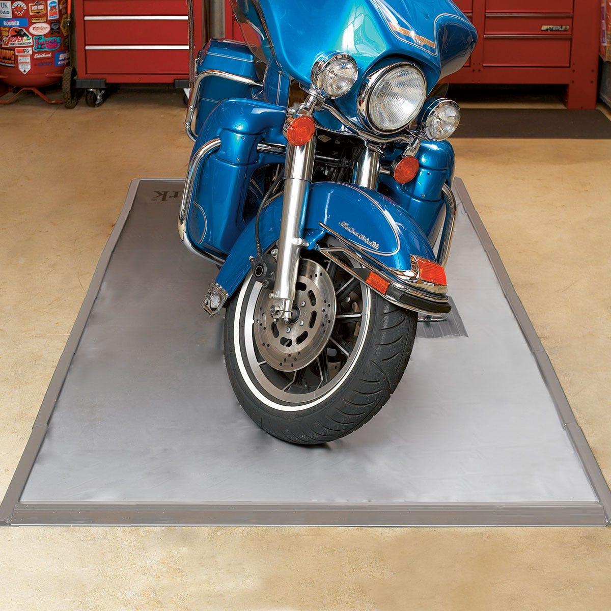 Ultimate Garage Mat Motorcycle Size