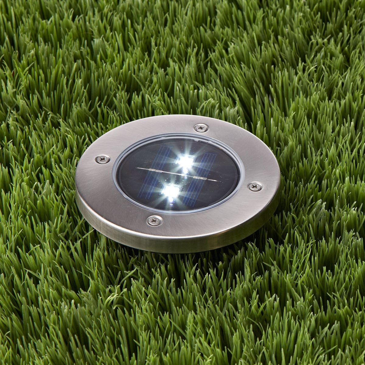 In Ground Solar Path Lights Set Of 4 From Sporty S