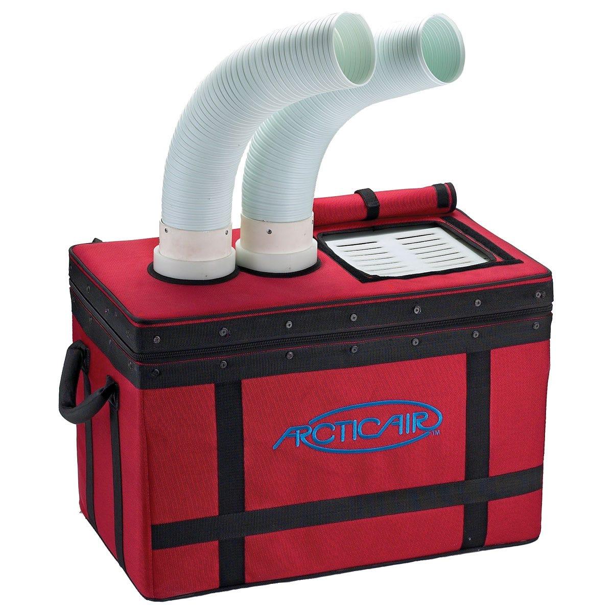 arctic air portable air conditioner 52 qt dual fan. Black Bedroom Furniture Sets. Home Design Ideas