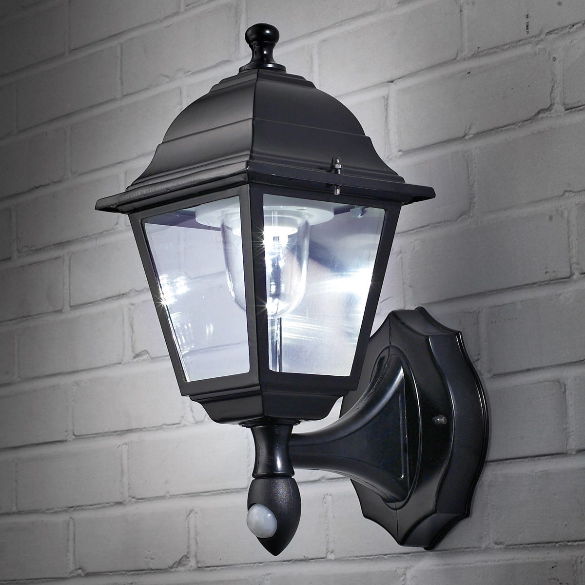 Wireless Motion-Activated Outdoor Wall Sconce - from Sportys Preferred Living