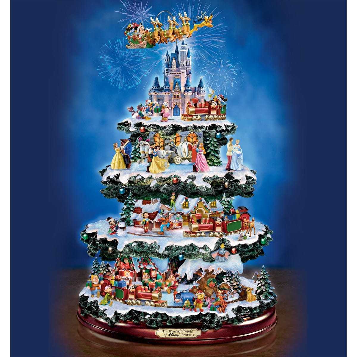 Ultimate Disney through the Years Christmas Tree - from Sportys Preferred  Living