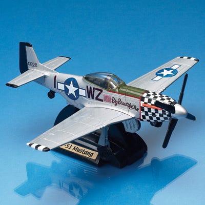 P-51 Mustang Smithsonian Die-Cast Model