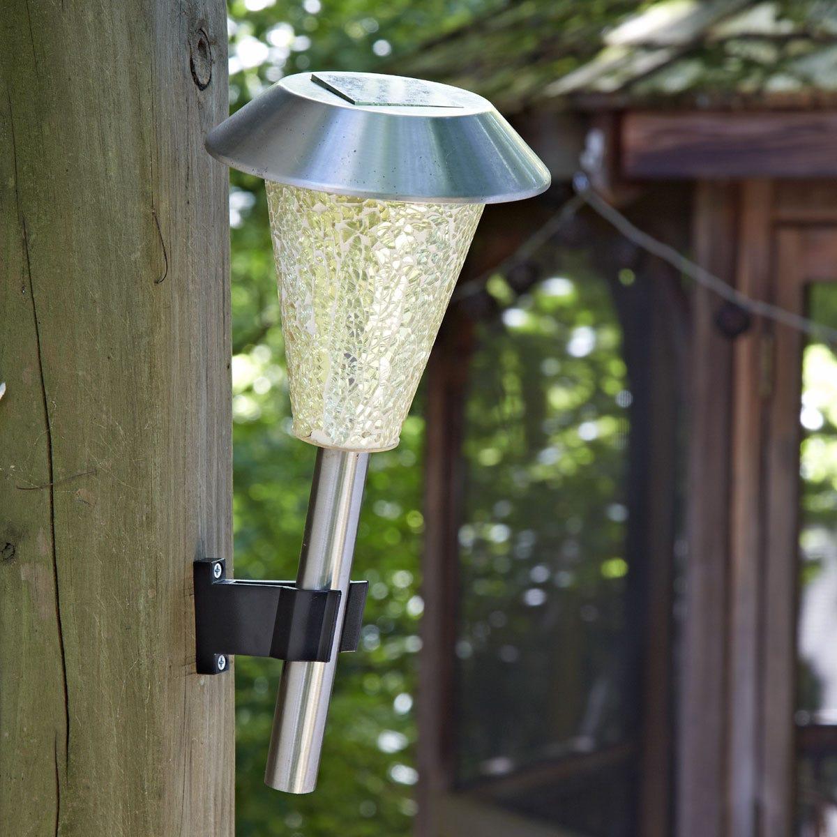 Light Stand Organizer: Solar Stake Light Holder (Set Of 4)