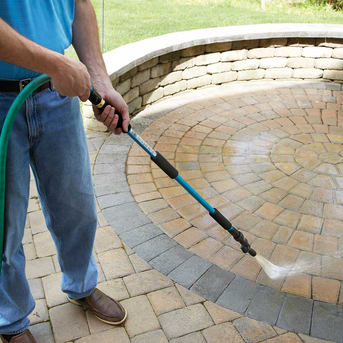 High reach water blaster from sporty 39 s tool shop - Turn garden hose into pressure washer ...