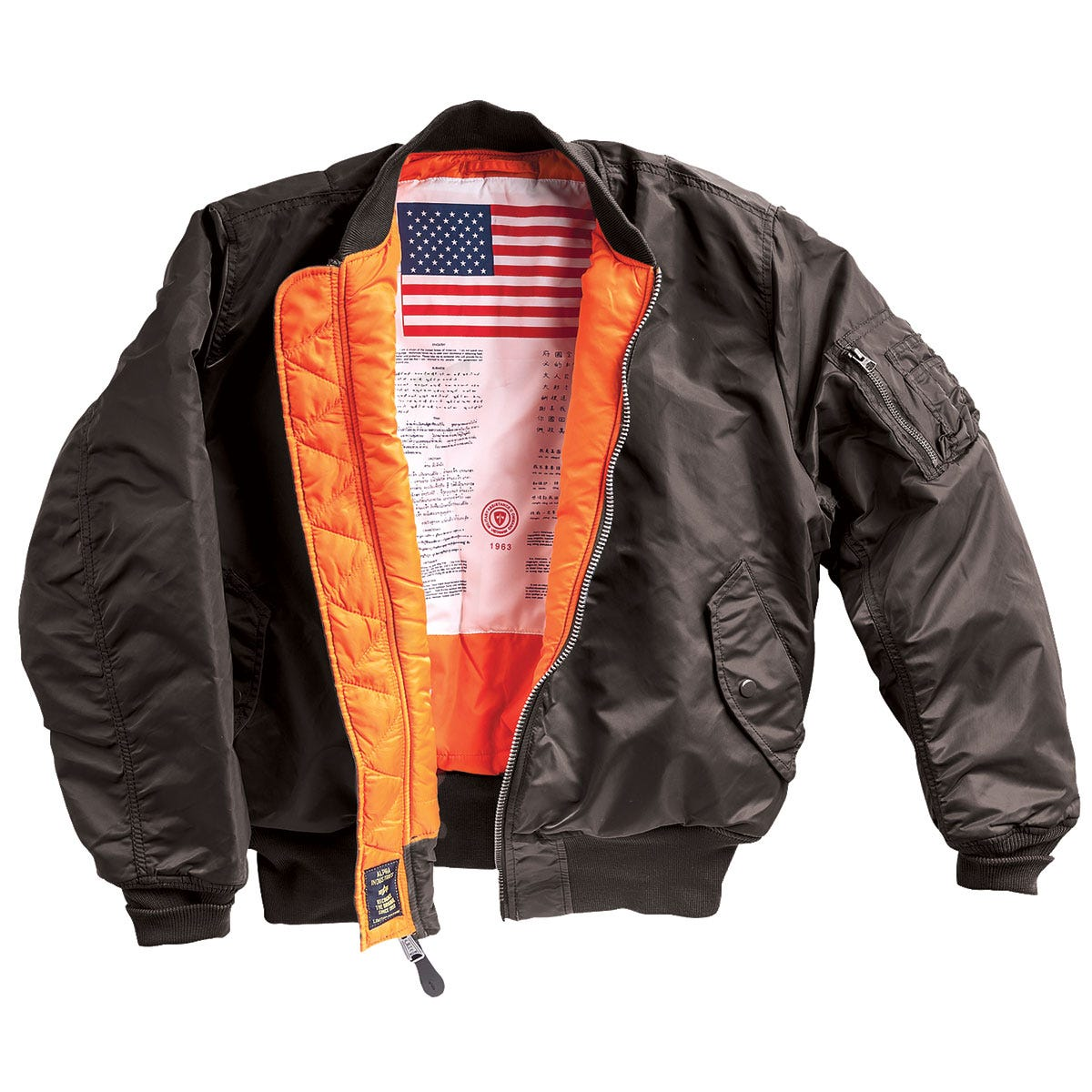 MA-1 Flight Jacket with Blood Chit - from Sporty's Wright Bros ...