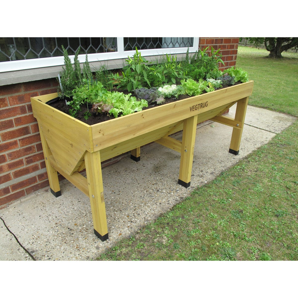 No Kneel Elevated Planter Large From Sportys Preferred