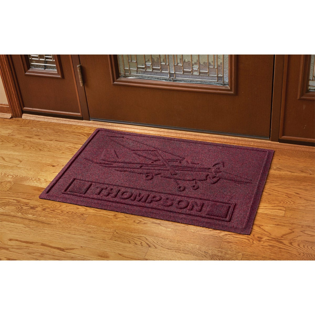 cessna 172 personalized doormat from sporty 39 s wright bros collection. Black Bedroom Furniture Sets. Home Design Ideas