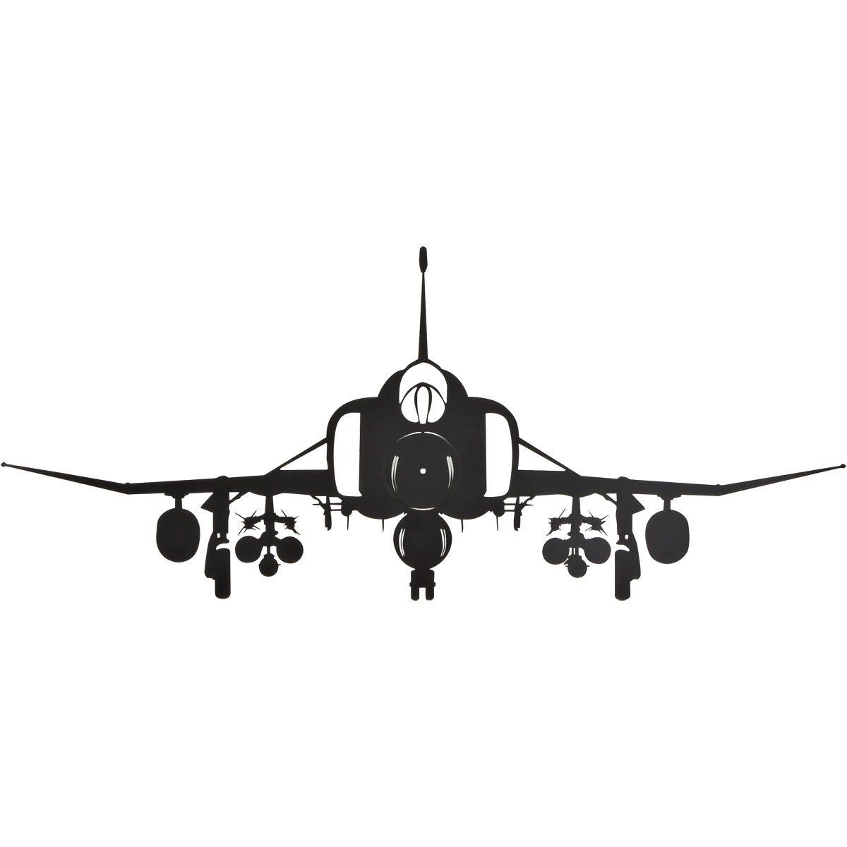 9ffb5eeb8bd Phantom Silhouette Aircraft Metal Sign - from Sporty s Pilot Shop