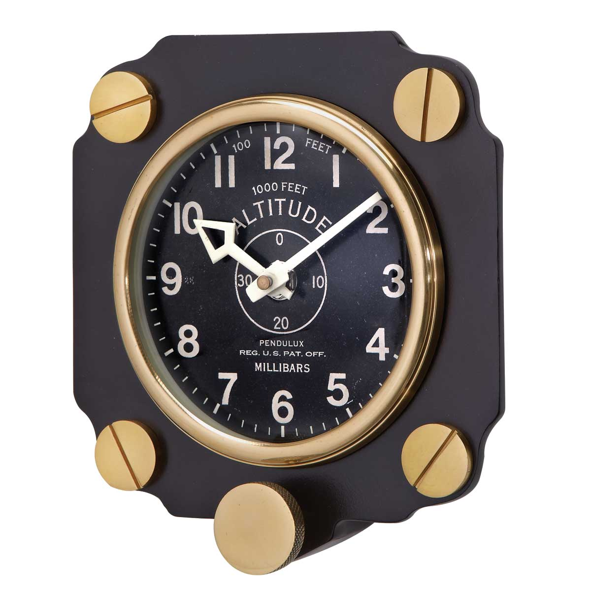 altimeter wall clock all other from sporty 39 s wright