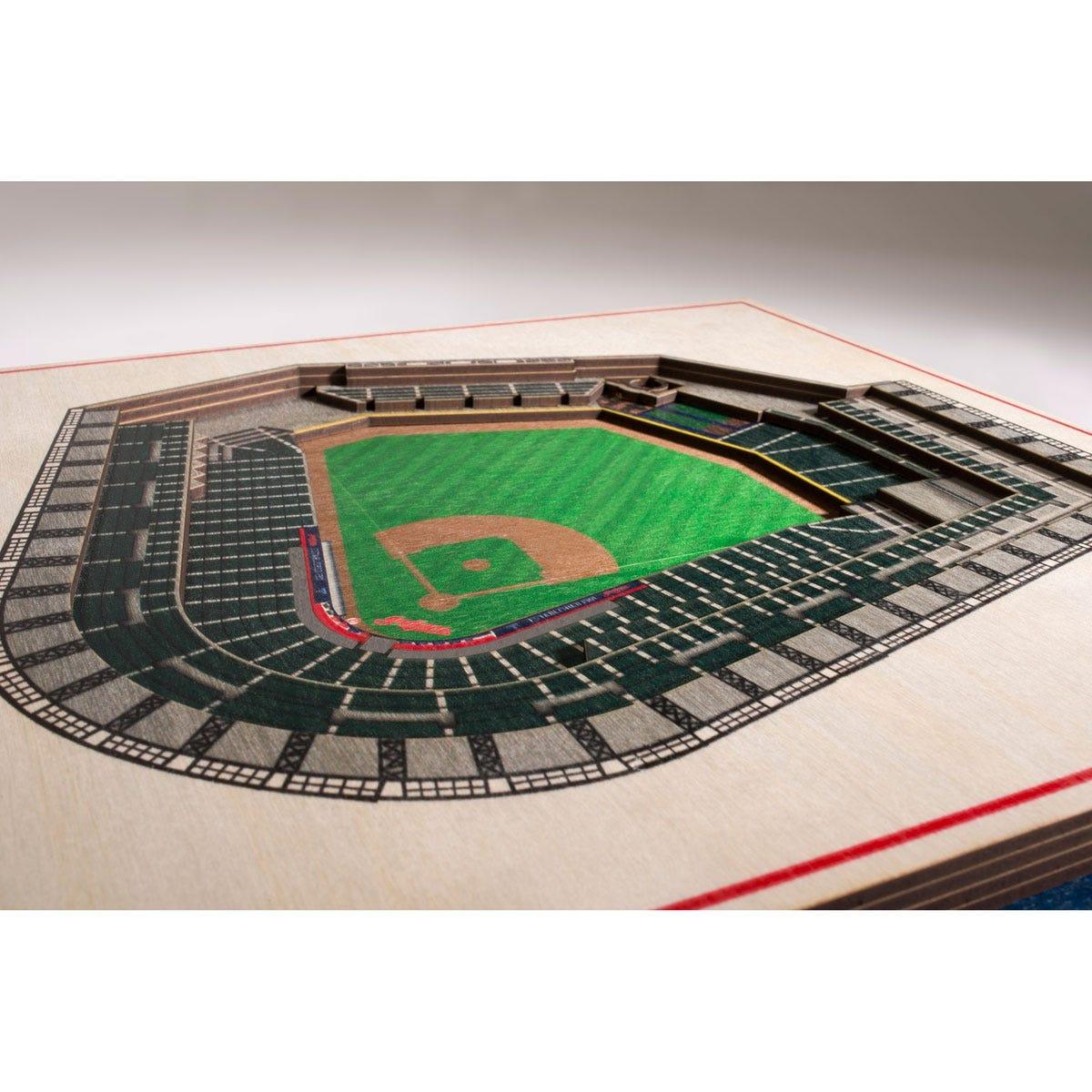MLB 3D Stadiums