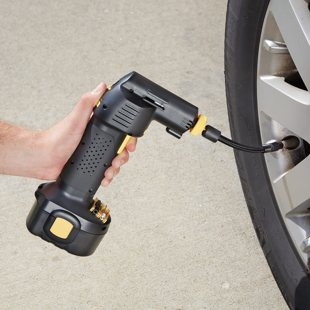 Rechargeable Airgun Cordless Air Compressor From Sporty