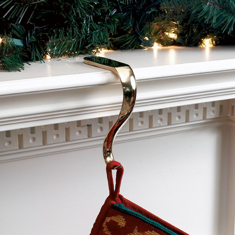 fireplace stocking hangers images Decor: Engaging Christmas Fireplace Stocking Holders In Stars And