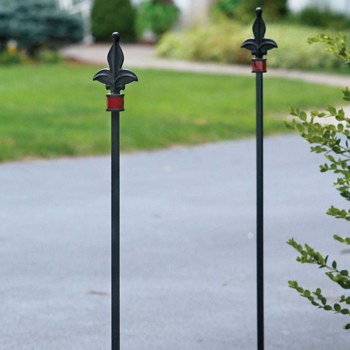 Wrought Iron Driveway Marker From Sportys Preferred Living