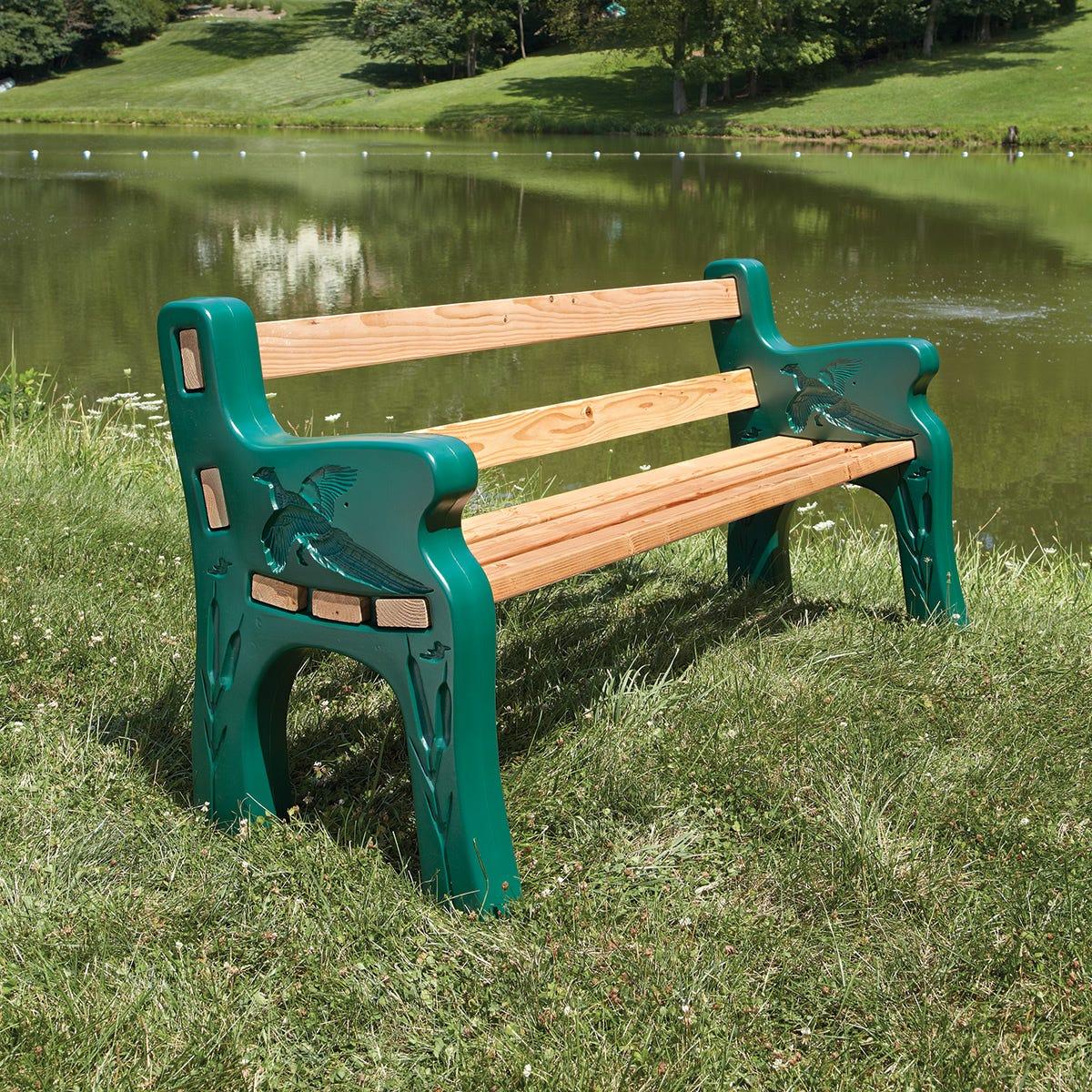 Park Bench Kit From Sportys Preferred Living