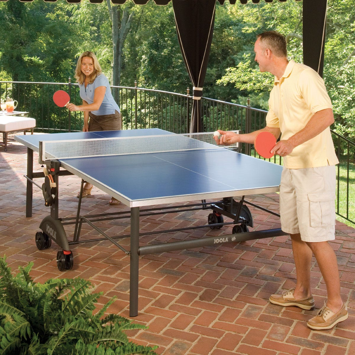 indoor/outdoor tennis table - from sportys preferred living