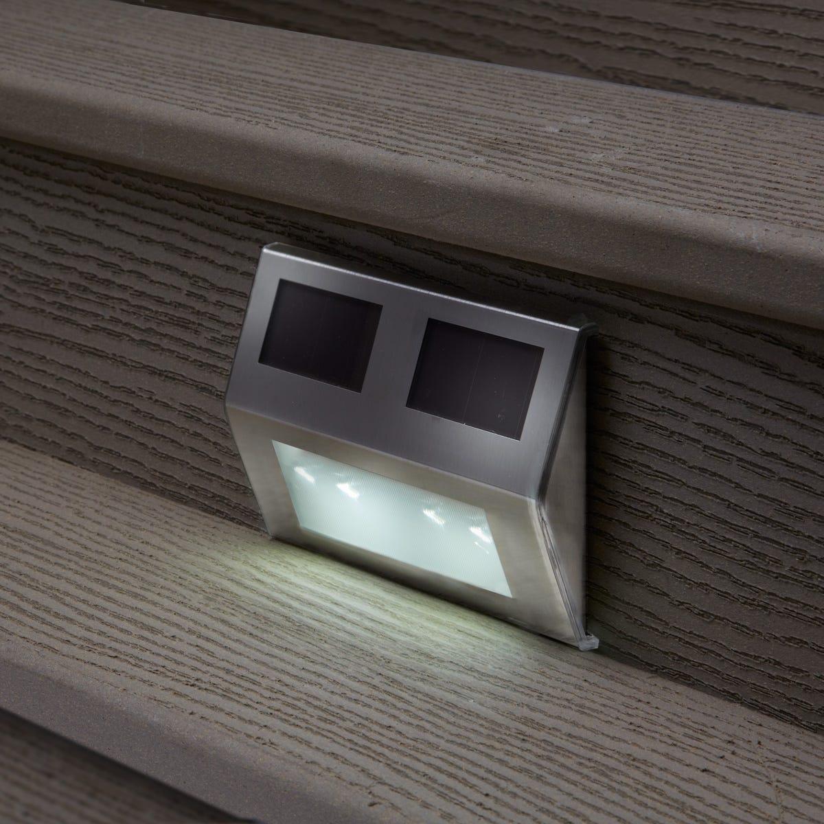 Solar Ed Metal Deck Lights Set Of 4