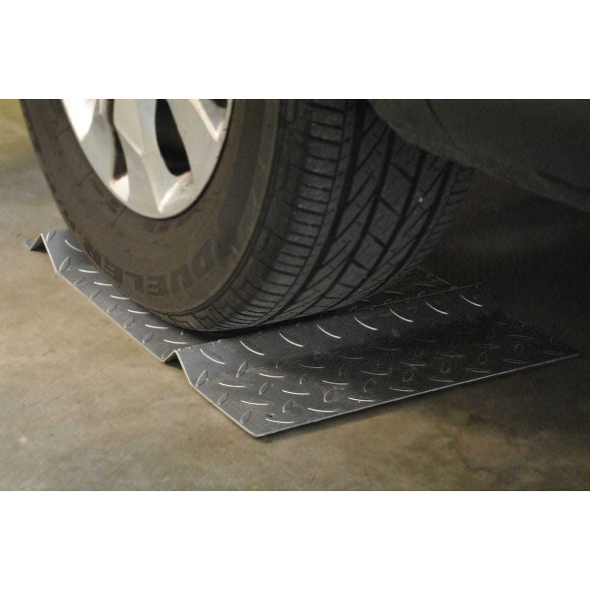 Diamond Plate Parking Mat From Sporty S Tool Shop