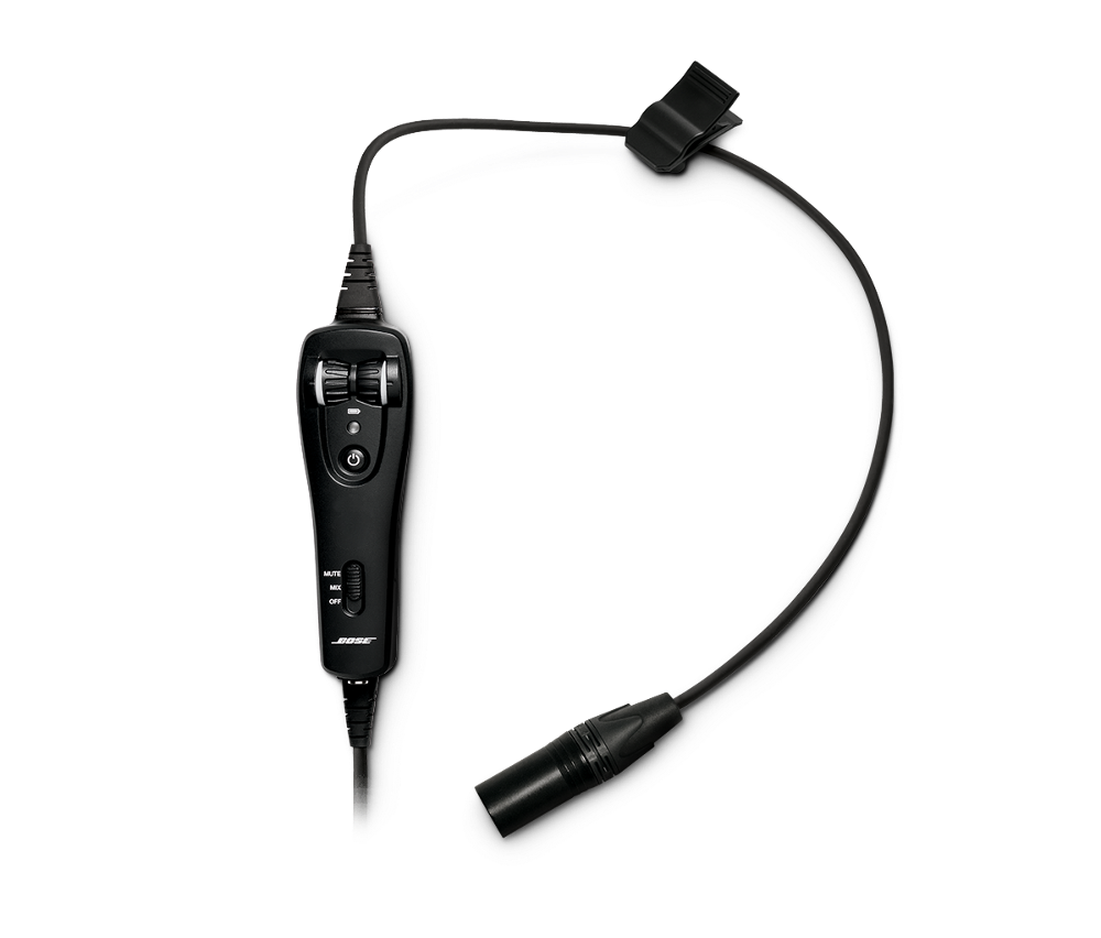 bose a20 headset cable assembly without bluetooth bose. Black Bedroom Furniture Sets. Home Design Ideas