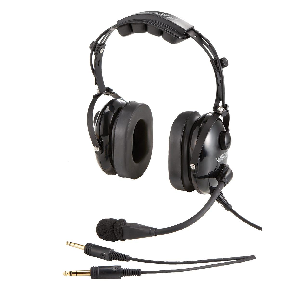 ASA AIRCLASSICS PILOT HEADSET BAG  ASA-BAG-HS-2  Fits 2 Headsets Case