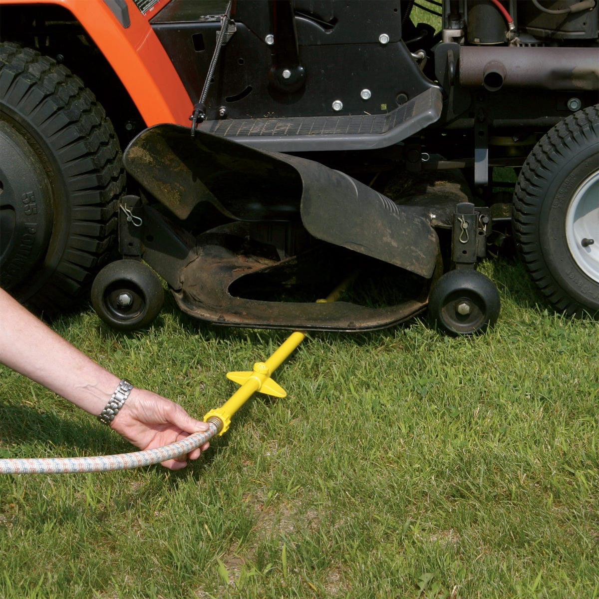 Mower Deck Washers : Riding mower deck washer lawn care from
