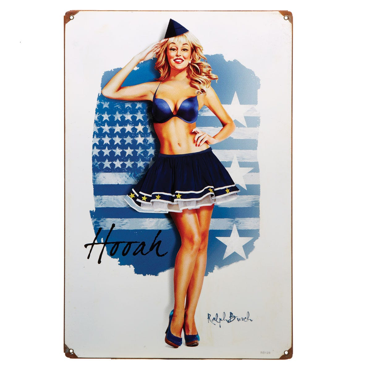 pinup metal signs from sportys wright bros collection