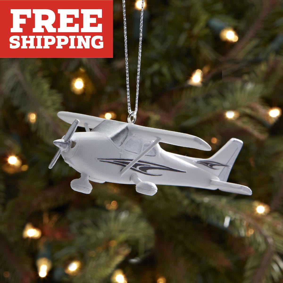 cessna 172 christmas ornament from sportys pilot shop - Christmas Decoration Catalogs