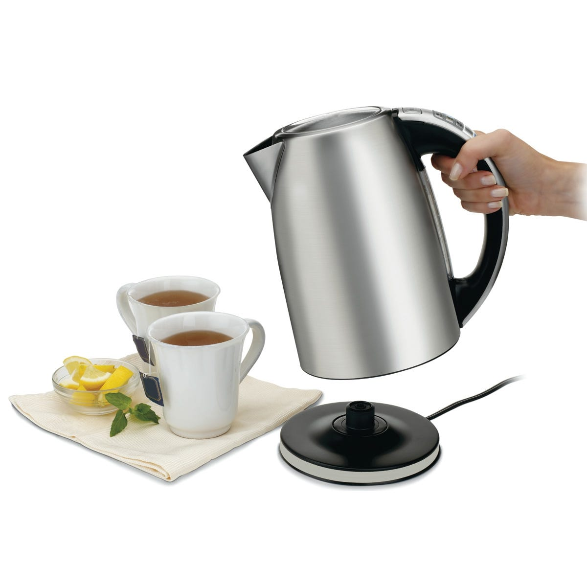 how to make tea in a electric kettle