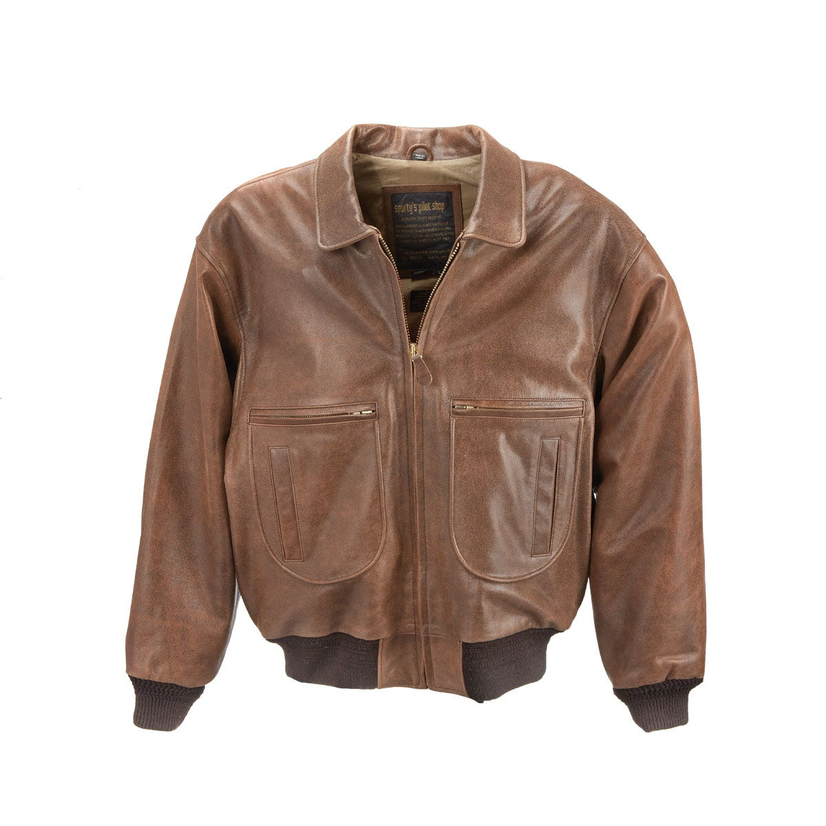 Pilot Wings G-2 Leather Jacket - from Sporty's Pilot Shop