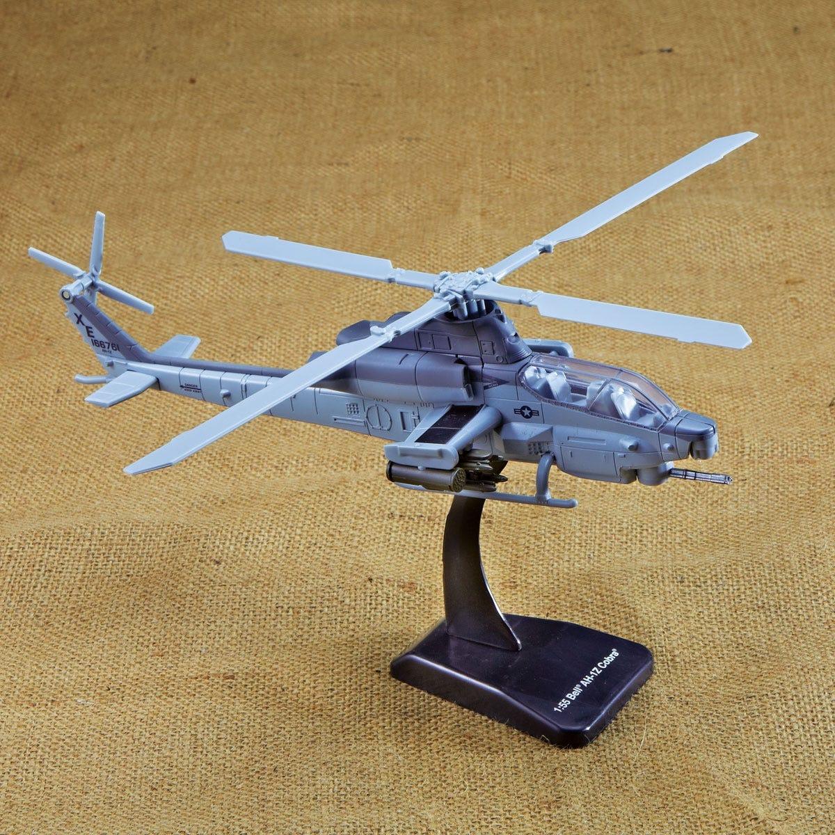 Bell AH-1Z Cobra Die-Cast Helicopter Model
