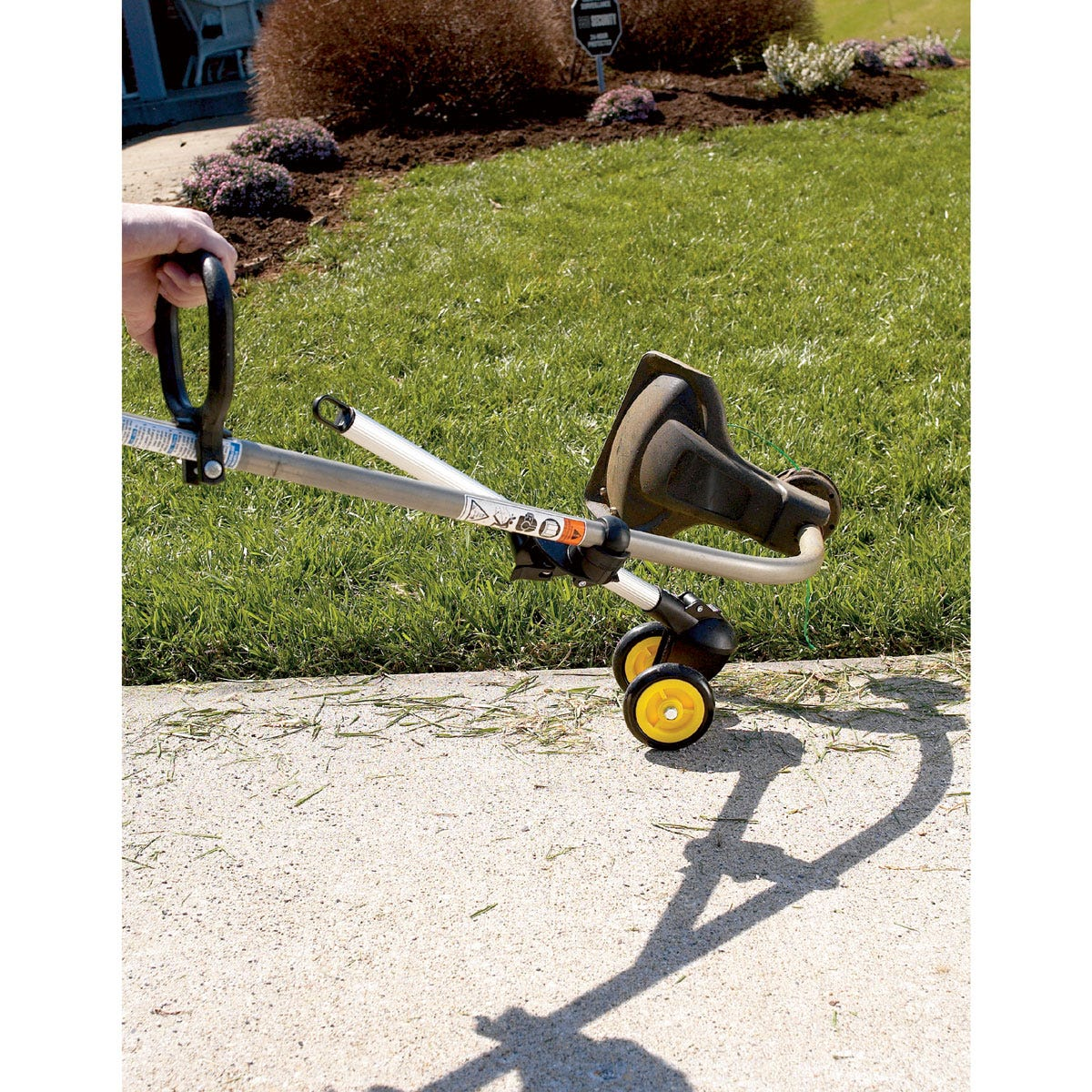 Trimmer Trolley Edging Walkways Lawn Care From