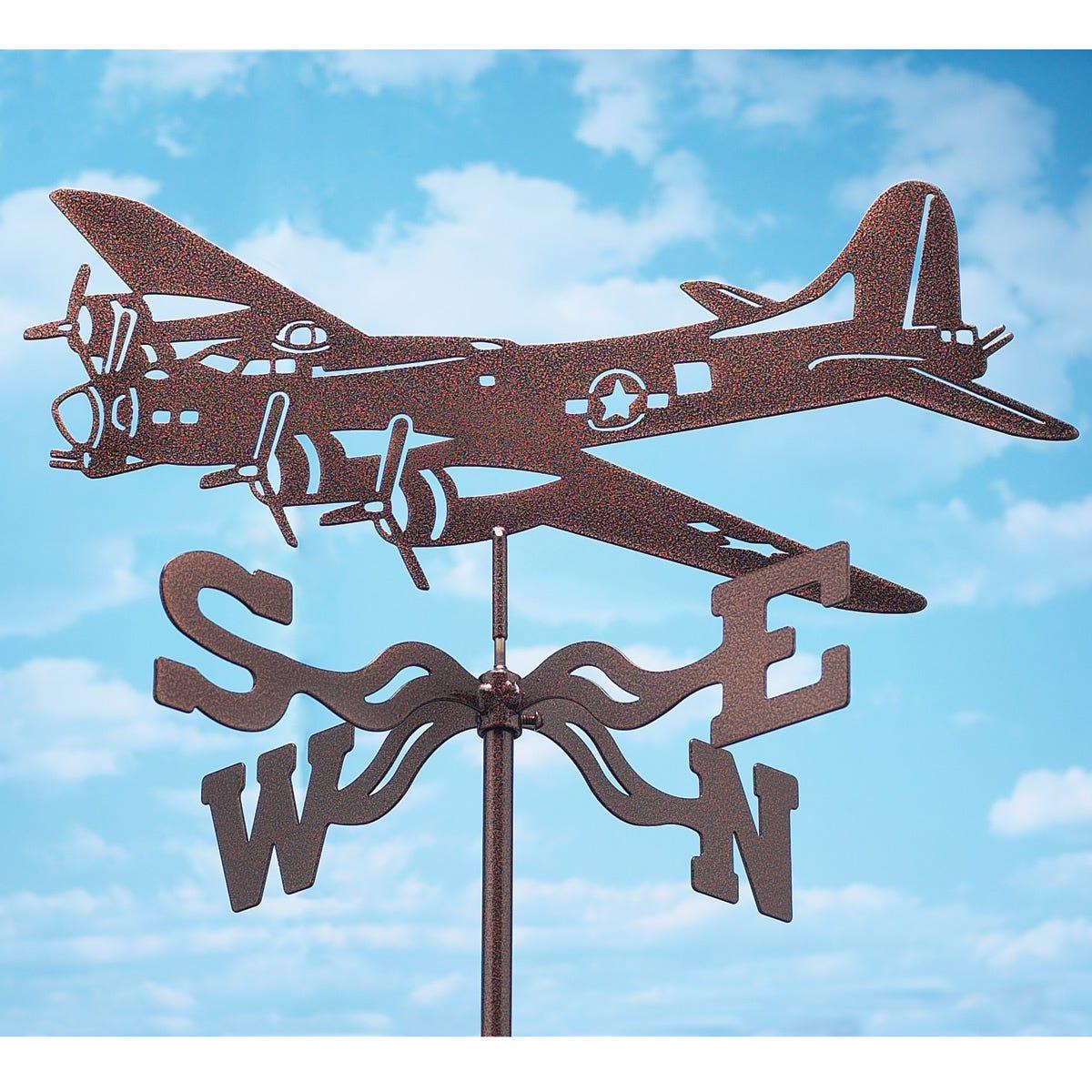 Weathervanes >> Garden Airplane Weathervanes Weather Vanes Windsocks Other