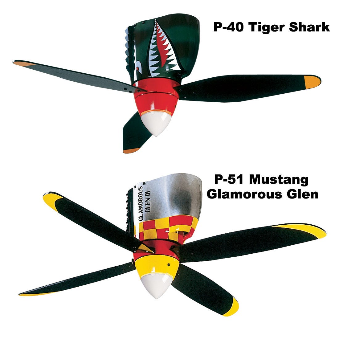 warbird ceiling fans - from sporty's pilot shop