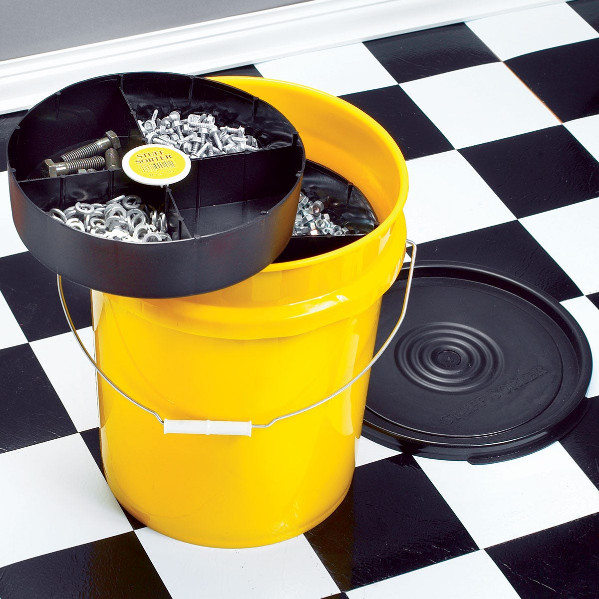 drop-in-the-bucket storage system - from sporty's tool shop