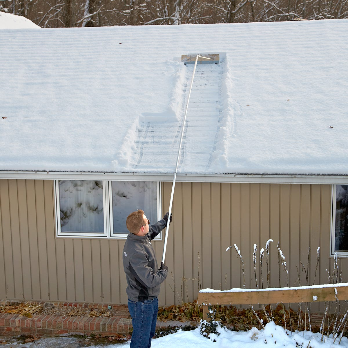 Roof Snow Rake Cold Weather All Other Categories