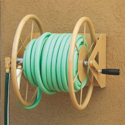 Wall Mounted Hose Reel From Sporty S Tool Shop