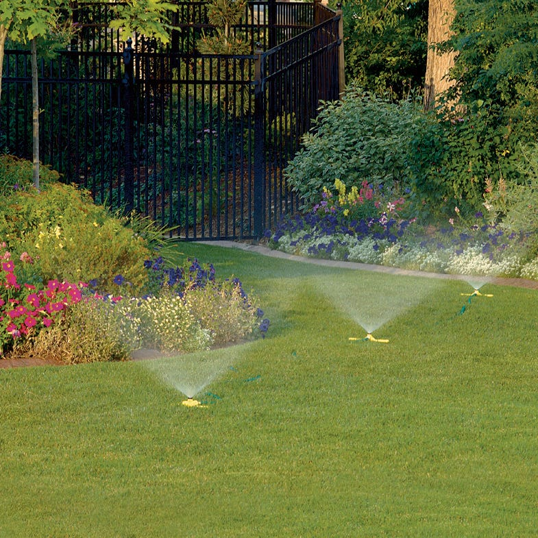 Temporary Irrigation System : Portable sprinkler system from sporty s pilot shop