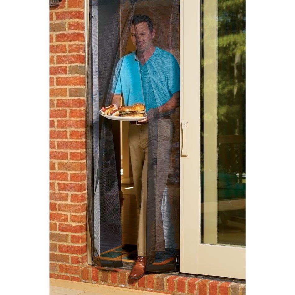 Portable Instant Door Screen 72 In X 80 In Door