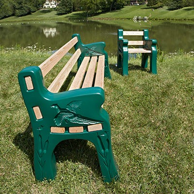 Park Bench Kit Outdoor Leisure From Sportys Preferred Living