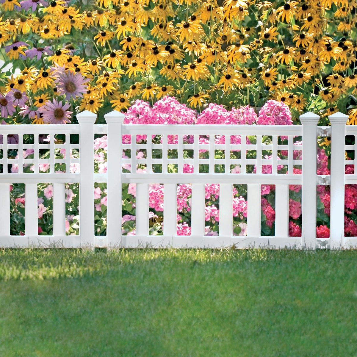 Garden Border Fence Three 24 In Sections From Sporty