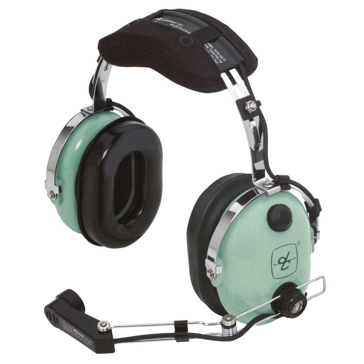 david clark h10 36 headset for helicopters from sporty 39 s pilot shop. Black Bedroom Furniture Sets. Home Design Ideas