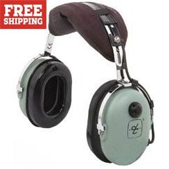 David Clark 10s Dc Headphone From Sporty S Pilot Shop