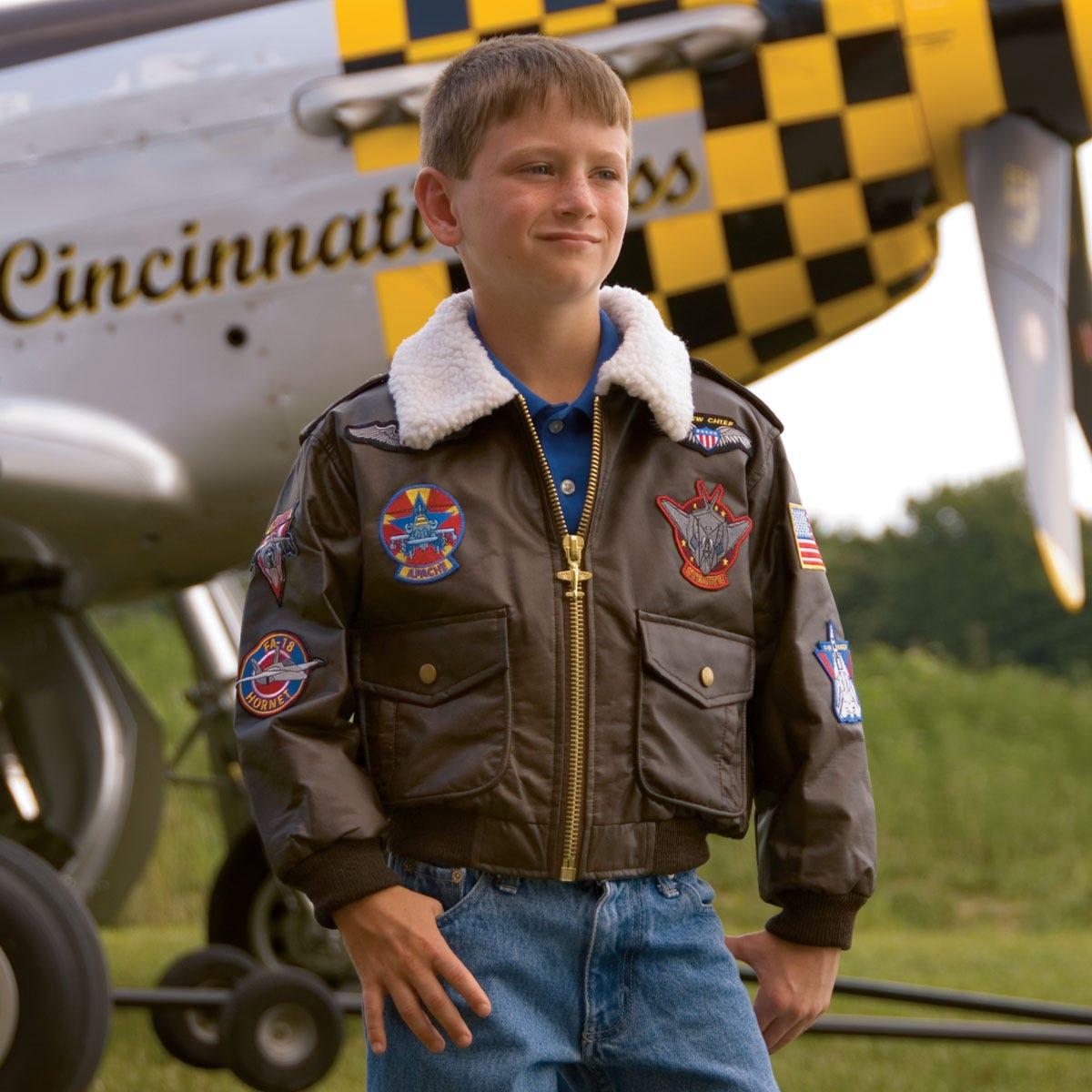 Children's Bomber Jacket - from Sporty's Pilot Shop
