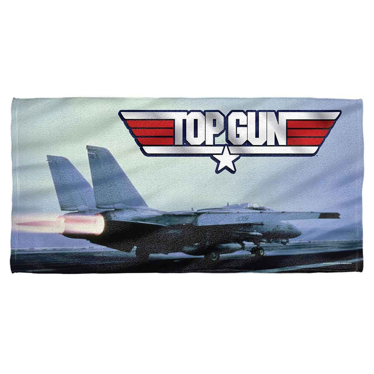 Top Gun Movie TAKE OFF 2-Sided Sublimated All Over Print Poly T-Shirt