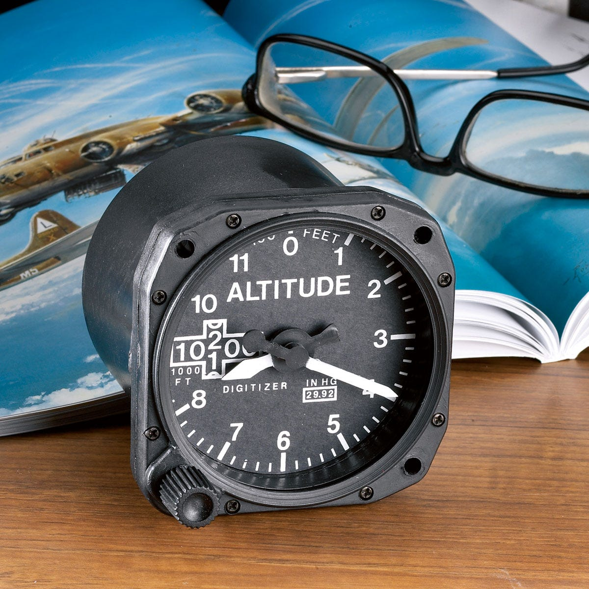 Altimeter Desk Alarm Clock Ideas