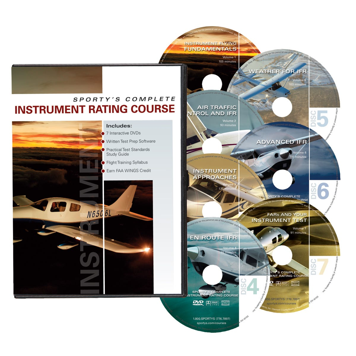 Sportys Instrument Rating Course Dvd From Pilot Shop Telex Intercom Wiring Diagram