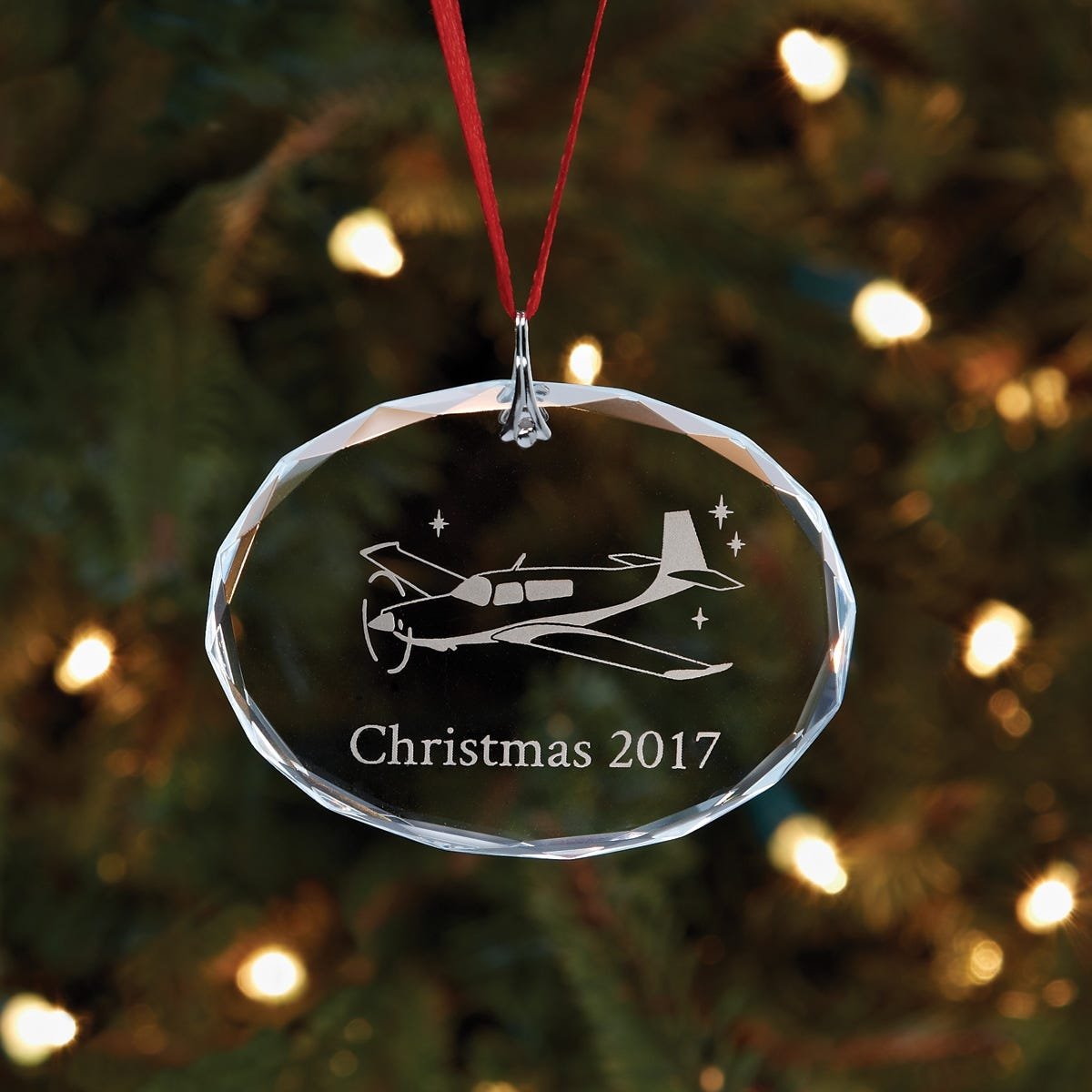 2017 Sporty\'s Christmas Ornament - from Sporty\'s Pilot Shop