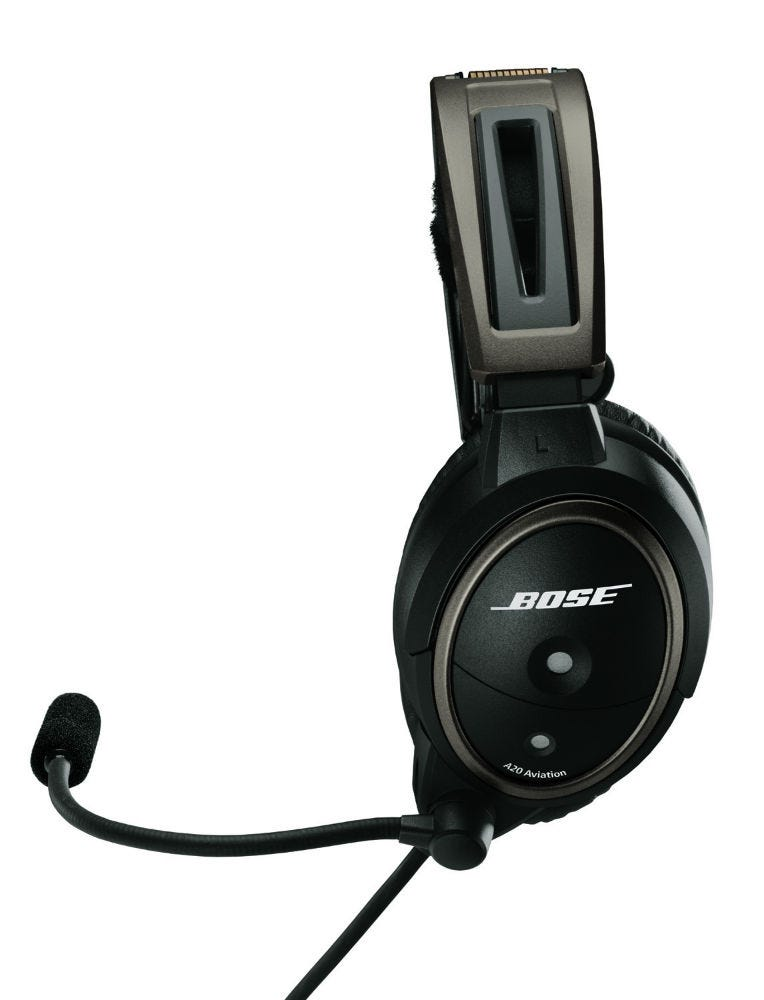 bose a20 aviation headset no bluetooth bose aviation headsets aviation headsets from. Black Bedroom Furniture Sets. Home Design Ideas